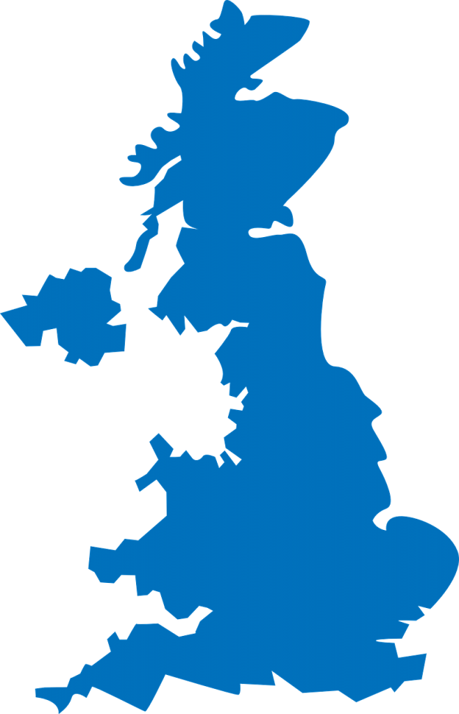 united, kingdom, map