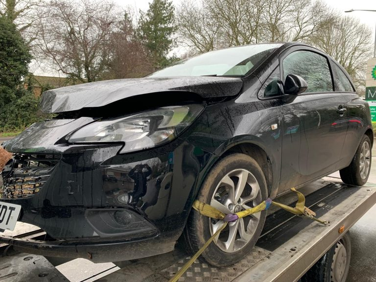 damaged car recovery