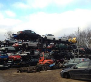 salvage cars -scrap cars